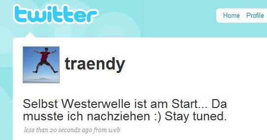 Twitter & traendy
